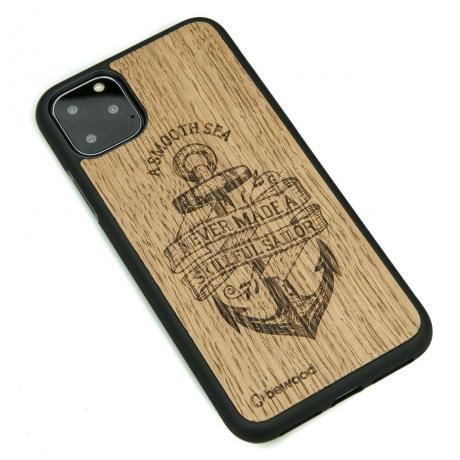 Drewniane Etui iPhone 11 PRO MAX KOTWICA DĄB