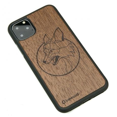 Drewniane Etui iPhone 11 PRO MAX LIS MERBAU