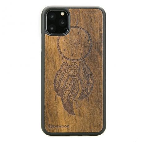 Drewniane Etui iPhone 11 PRO MAX ŁAPACZ SNÓW IMBUIA