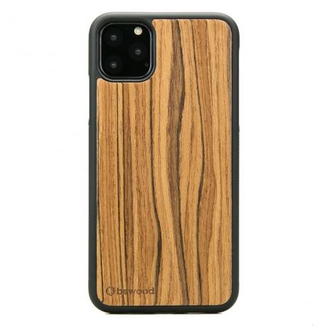 Drewniane Etui iPhone 11 PRO MAX OLIWKA