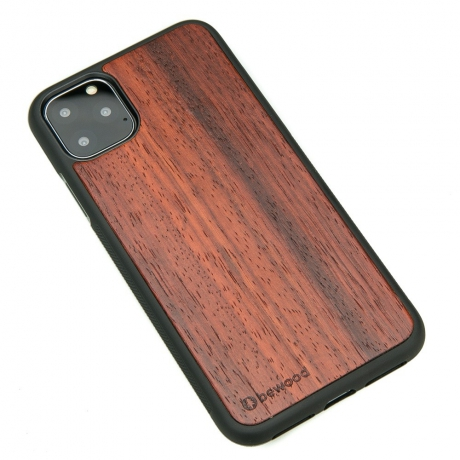 Drewniane Etui iPhone 11 PRO MAX PADOUK