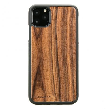 Drewniane Etui iPhone 11 PRO MAX PALISANDER SANTOS