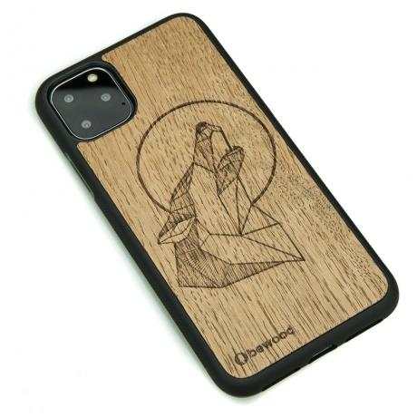 Drewniane Etui iPhone 11 PRO MAX WILK DĄB