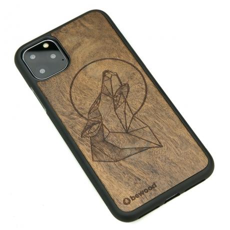 Drewniane Etui iPhone 11 PRO MAX WILK IMBUIA