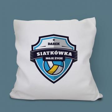 Poduszka z motywem siatkarskim (personalizowana)