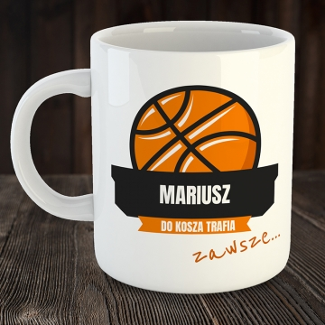 Kubek dla fana koszykówki