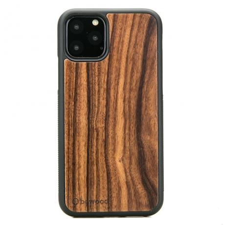 Drewniane Etui iPhone 11 PRO PALISANDER SANTOS