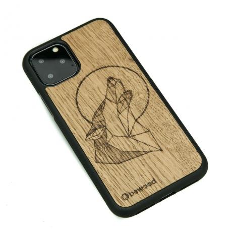 Drewniane Etui iPhone 11 PRO WILK DĄB