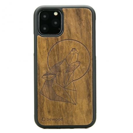 Drewniane Etui iPhone 11 PRO WILK IMBUIA
