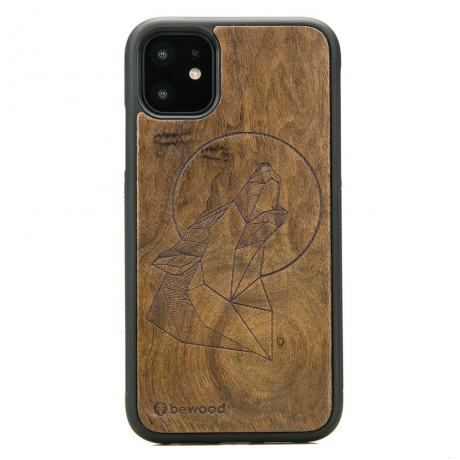 Drewniane Etui iPhone 11 WILK IMBUIA