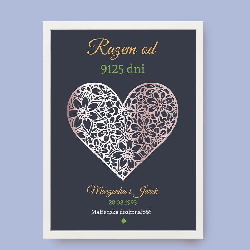 Plakat Małżeństwo
