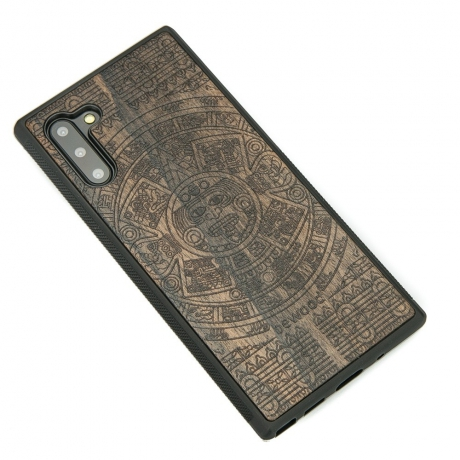 Drewniane Etui Samsung Galaxy NOTE 10 KALENDARZ AZTECKI ZIRICOTTE