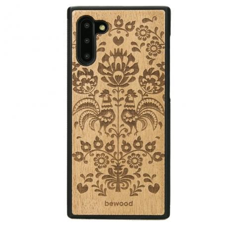 Drewniane Etui Samsung Galaxy NOTE 10 POLSKI FOLK ANIEGRE