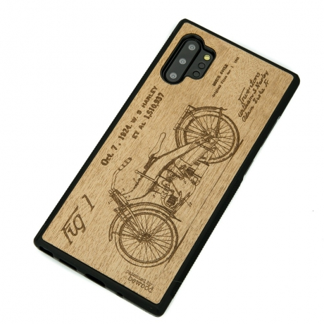 Drewniane Etui Samsung Galaxy NOTE 10+ HARLEY PATENT ANIEGRE