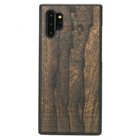 Drewniane Etui Samsung Galaxy NOTE 10+ KALENDARZ AZTECKI ZIRICOTTE