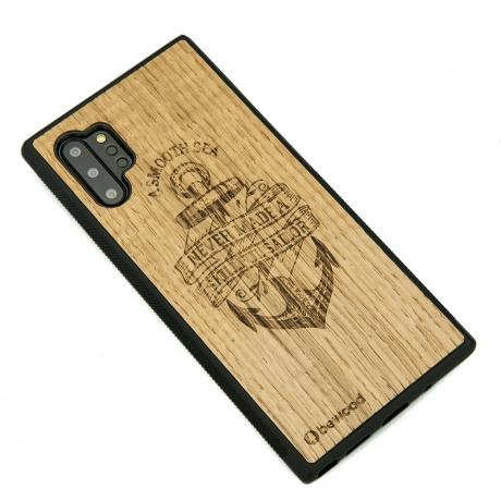 Drewniane Etui Samsung Galaxy NOTE 10+ KOTWICA DĄB