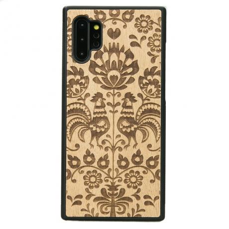 Drewniane Etui Samsung Galaxy NOTE 10+ POLSKI FOLK ANIEGRE
