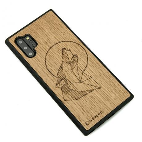 Drewniane Etui Samsung Galaxy NOTE 10+ WILK DĄB