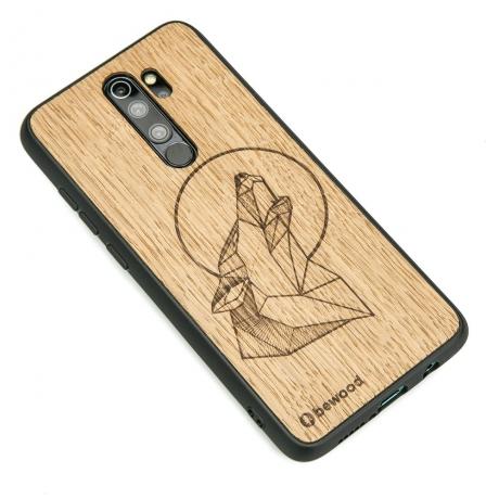 Drewniane Etui Xiaomi Redmi Note 8 Pro WILK DĄB