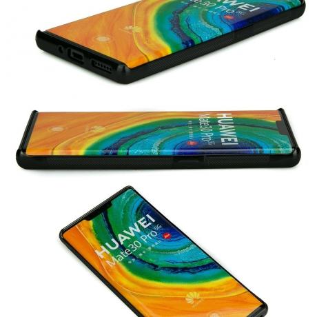 Drewniane Etui Huawei Mate 30 Pro DĄB WĘDZONY