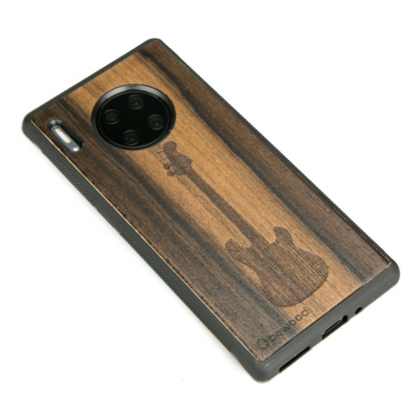 Drewniane Etui Huawei Mate 30 Pro GITARA ZIRICOTE