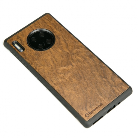 Drewniane Etui Huawei Mate 30 Pro IMBUIA