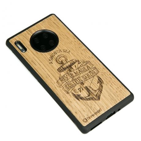Drewniane Etui Huawei Mate 30 Pro KOTWICA DĄB