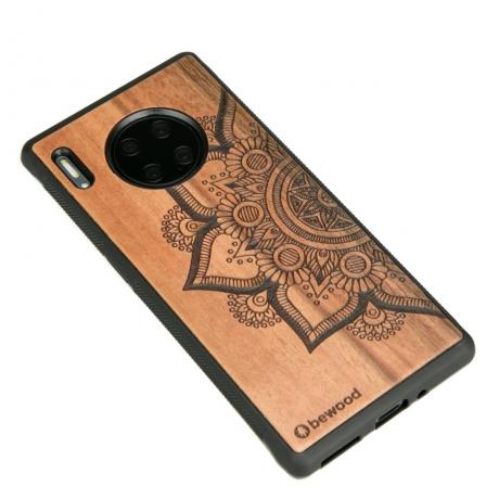Drewniane Etui Huawei Mate 30 Pro MANDALA JABŁOŃ