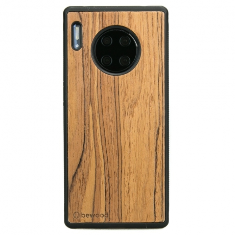 Drewniane Etui Huawei Mate 30 Pro OLIWKA