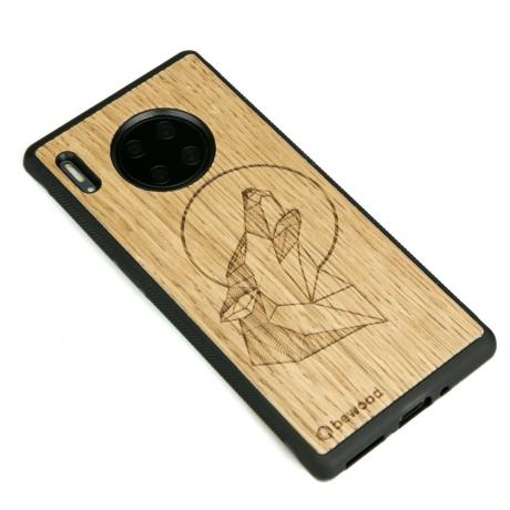 Drewniane Etui Huawei Mate 30 Pro WILK DĄB