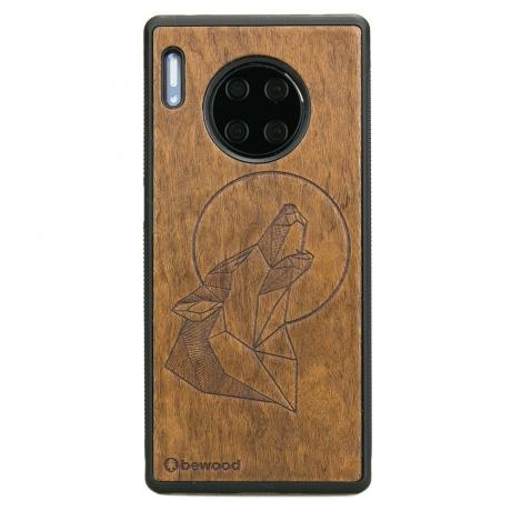 Drewniane Etui Huawei Mate 30 Pro WILK IMBUIA