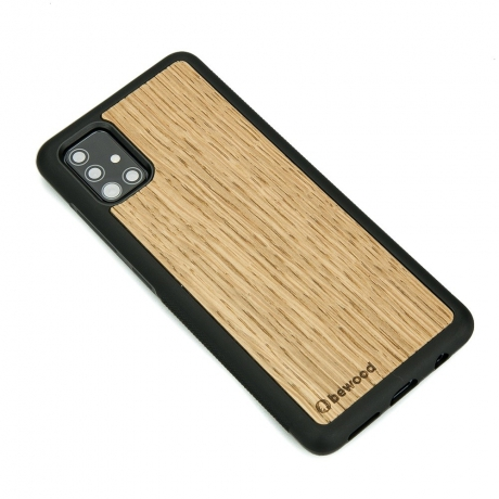 Drewniane Etui Samsung Galaxy A51 DĄB