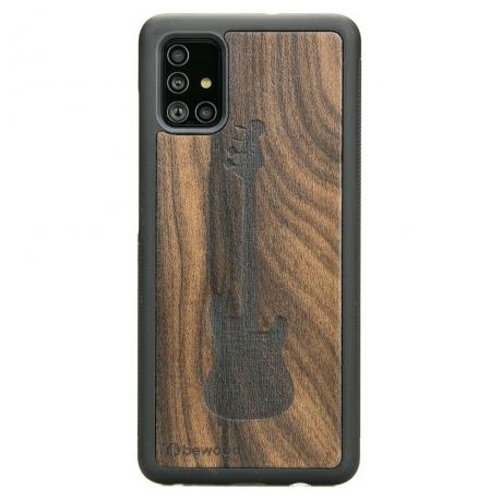 Drewniane Etui Samsung Galaxy A51 GITARA ZIRICOTE