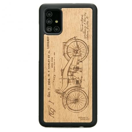 Drewniane Etui Samsung Galaxy A51 HARLEY PATENT ANIEGRE