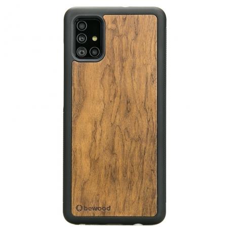 Drewniane Etui Samsung Galaxy A51 IMBUIA