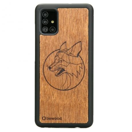 Drewniane Etui Samsung Galaxy A51 LIS MERBAU