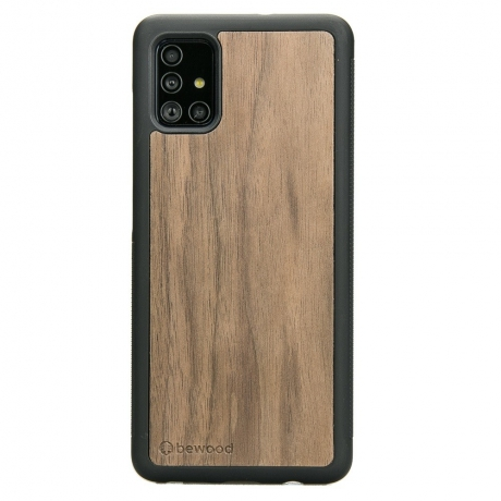 Drewniane Etui Samsung Galaxy A51 ORZECH AMERYKAŃSKI