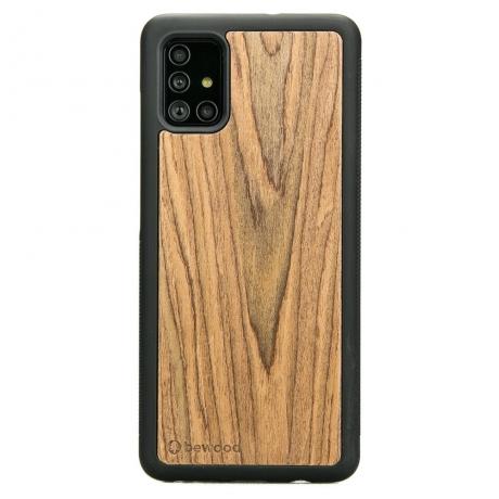 Drewniane Etui Samsung Galaxy A51 PALISANDER