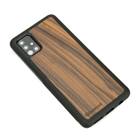 Drewniane Etui Samsung Galaxy A51 PALISANDER SANTOS
