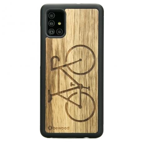 Drewniane Etui Samsung Galaxy A51 ROWER LIMBA