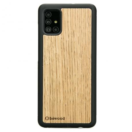 Drewniane Etui Samsung Galaxy A71 DĄB