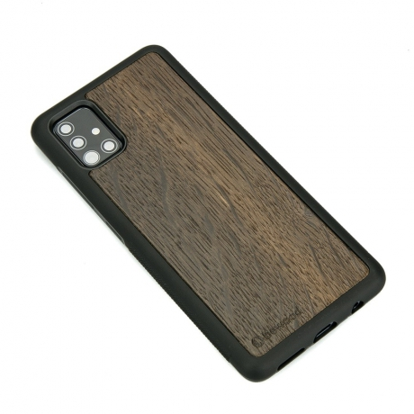 Drewniane Etui Samsung Galaxy A71 DĄB WĘDZONY
