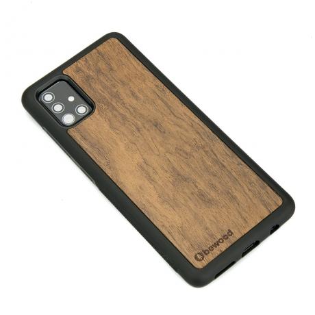 Drewniane Etui Samsung Galaxy A71 IMBUIA
