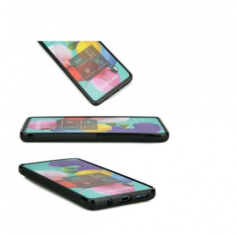 Drewniane Etui Samsung Galaxy A71 MANDALA JABŁOŃ