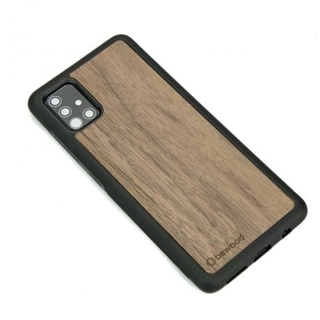 Drewniane Etui Samsung Galaxy A71 ORZECH AMERYKAŃSKI