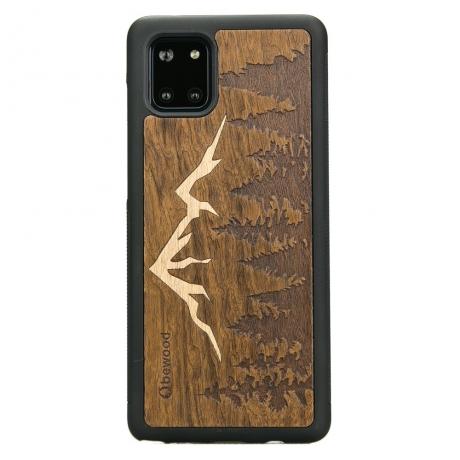 Drewniane Etui Samsung Galaxy Note 10 Lite GÓRY IMBUIA