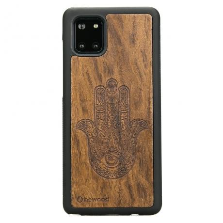 Drewniane Etui Samsung Galaxy Note 10 Lite HAMSA IMBUIA