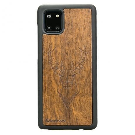 Drewniane Etui Samsung Galaxy Note 10 Lite JELEŃ IMBUIA
