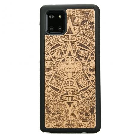 Drewniane Etui Samsung Galaxy Note 10 Lite KALENDARZ AZTECKI ANIEGRE