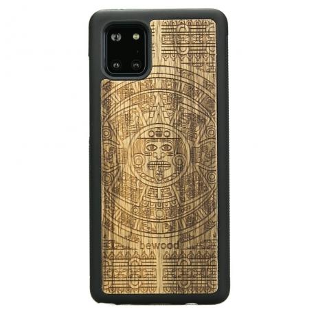 Drewniane Etui Samsung Galaxy Note 10 Lite KALENDARZ AZTECKI LIMBA
